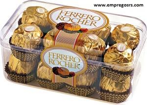 Vagas na Páscoa - Ferrero Rocher - RS