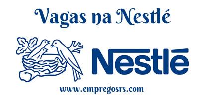 Vagas de emprego na Nestlé - Empregos RS