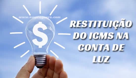 Restituição do ICMS na conta de luz